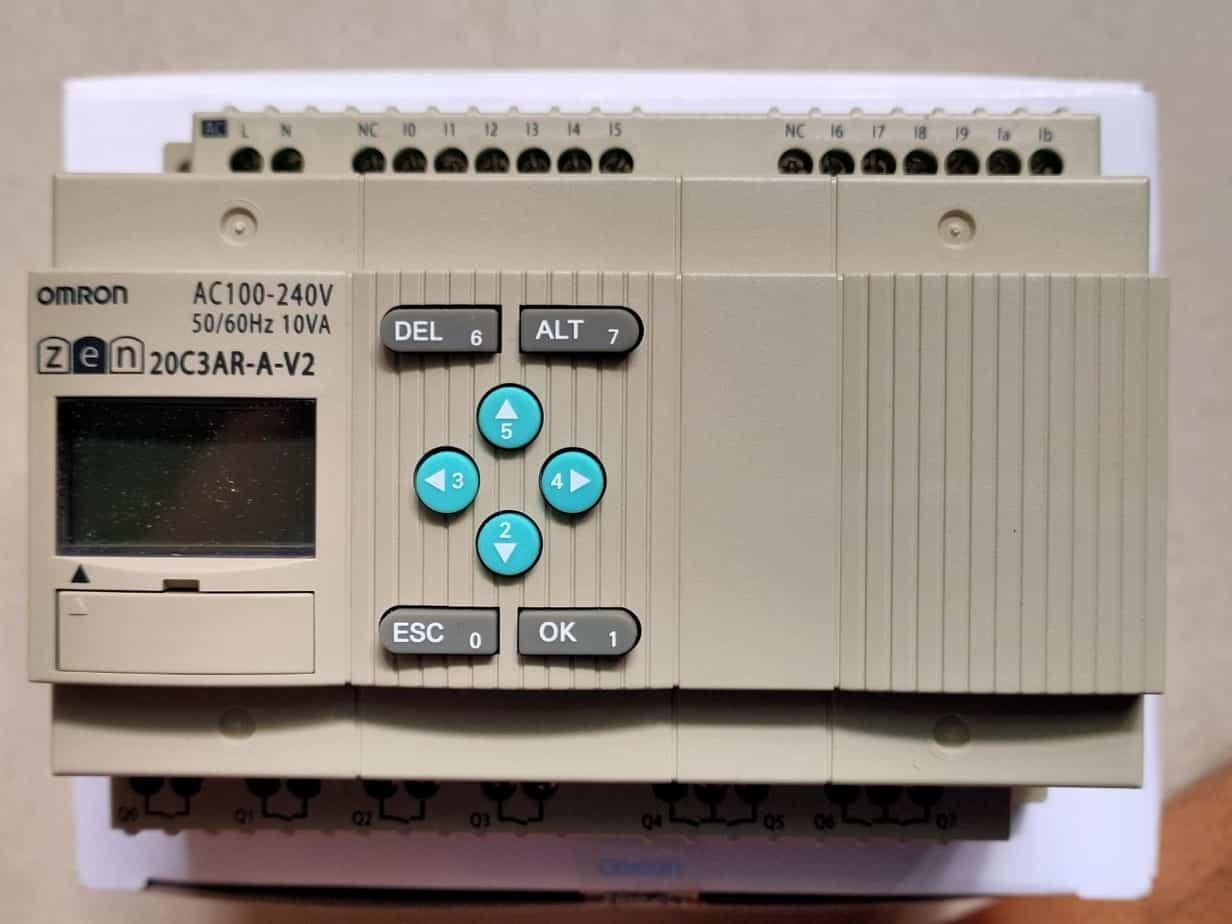 Bộ lập trình PLC Zen Omron được ứng dụng trong nhiều lĩnh vực