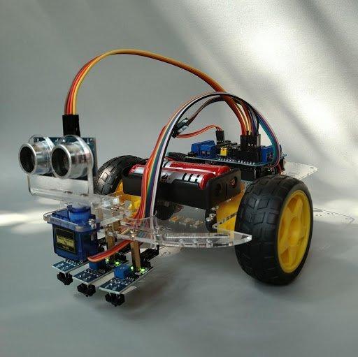 Mô hình robot dò đường