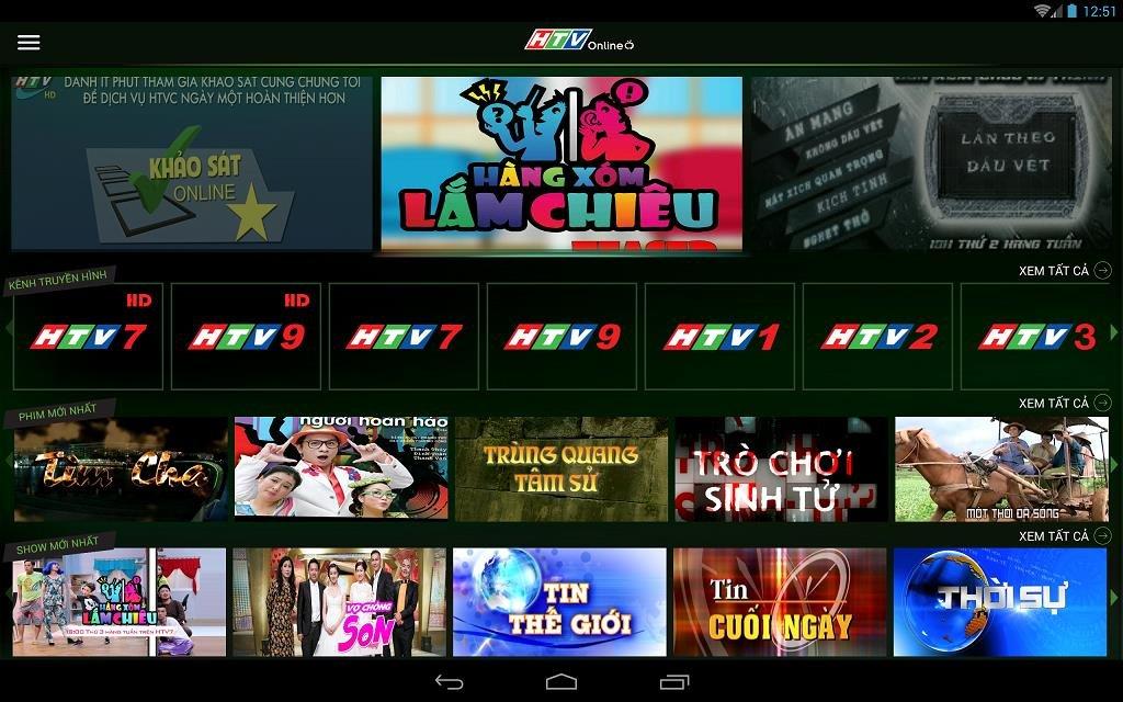 Phần mềm HTV Online