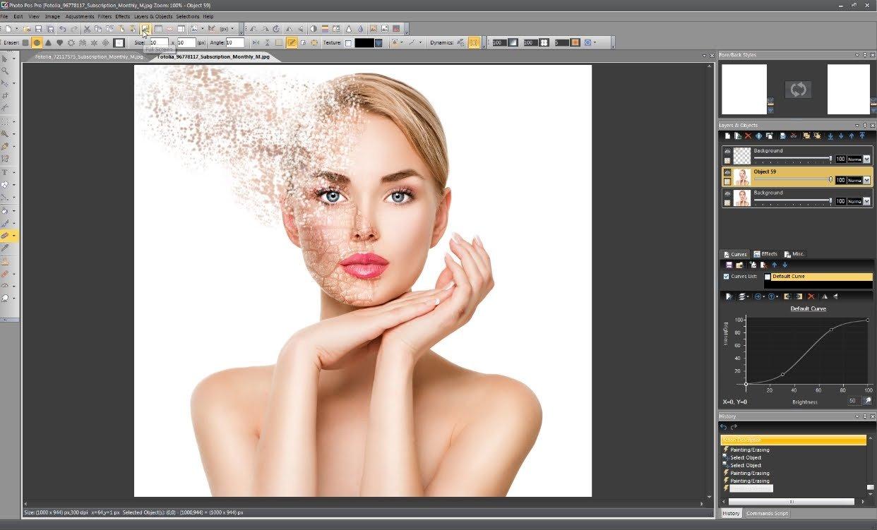Phần mềm chỉnh sửa ảnh Photo Pos Pro