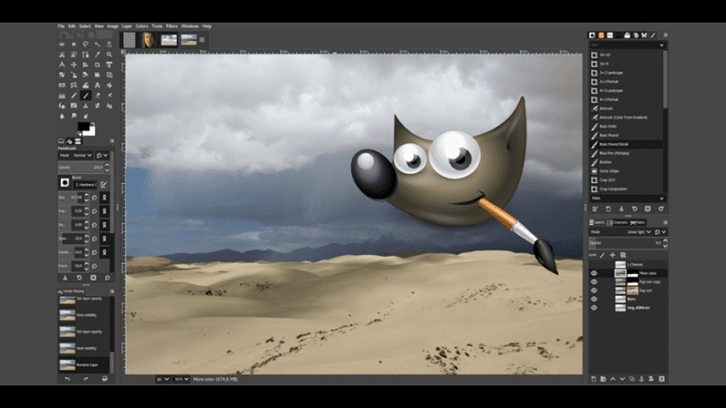 Phần mềm chỉnh ảnh GIMP