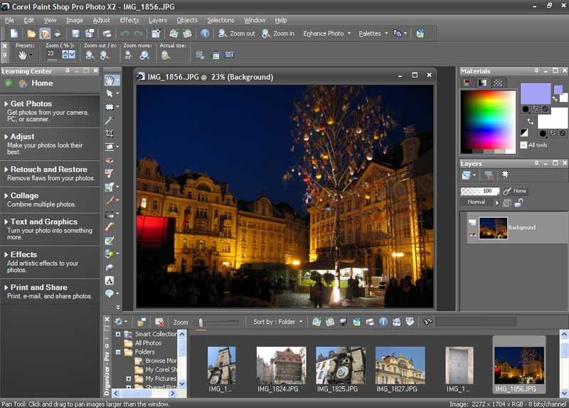 Phần mềm chỉnh sửa ảnh Corel Paintshop