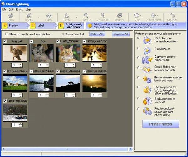 Phần mềm chỉnh sửa ảnh Photolightning