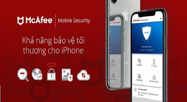 Phần mềm diệt virus McAfee Mobile Security