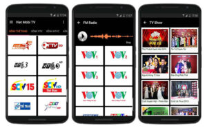 phần mềm xem tivi online trên điện thoại