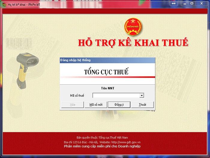 Phần mềm HTKK_ hỗ trợ kê khai thuế miễn phí cho doanh nghiệp