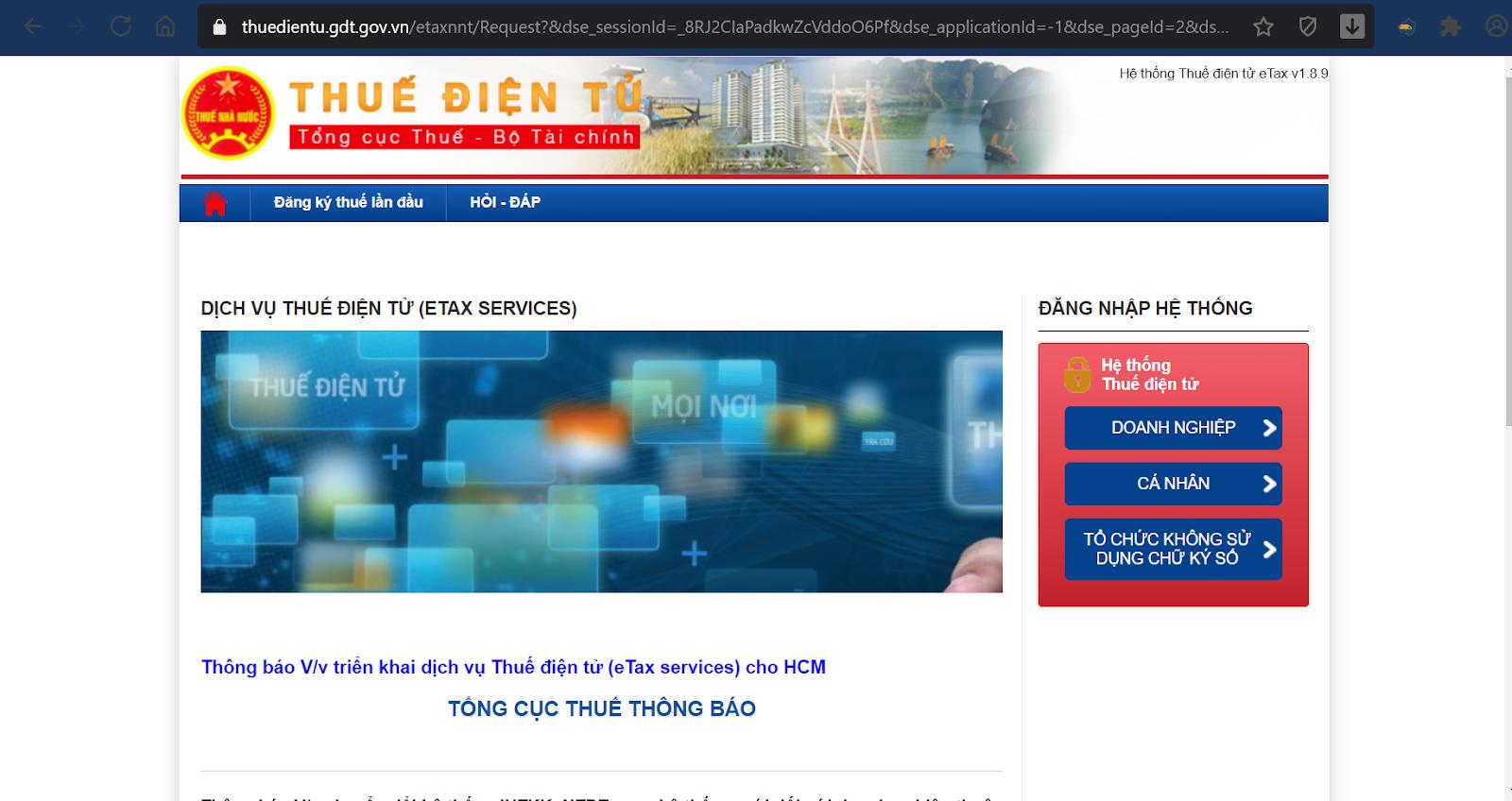 Phần mềm iHTKK online