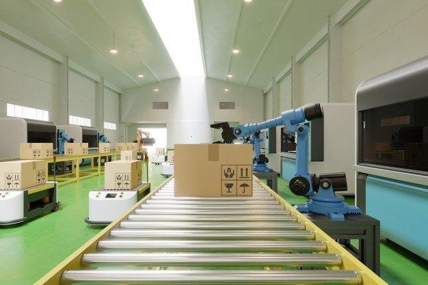 Cánh tay robot trong sản xuất công nghiệp