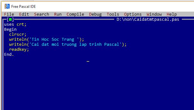 Download Pascal – ứng dụng lập trình ngôn ngữ Pascal