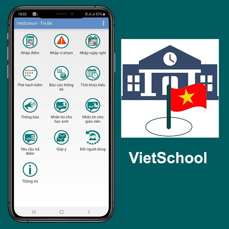 Phần mềm giáo dục chất lượng - VietSchool