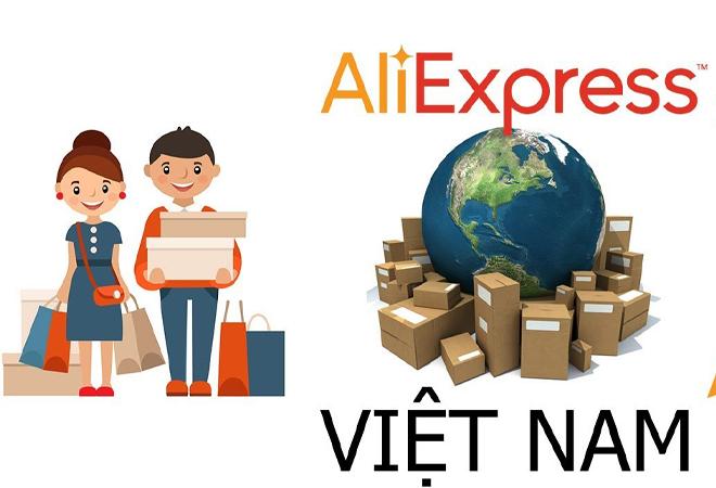Các quy trình đặt mua hàng trên web AliExpress
