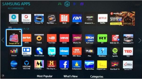 Các kênh có trong IPTV