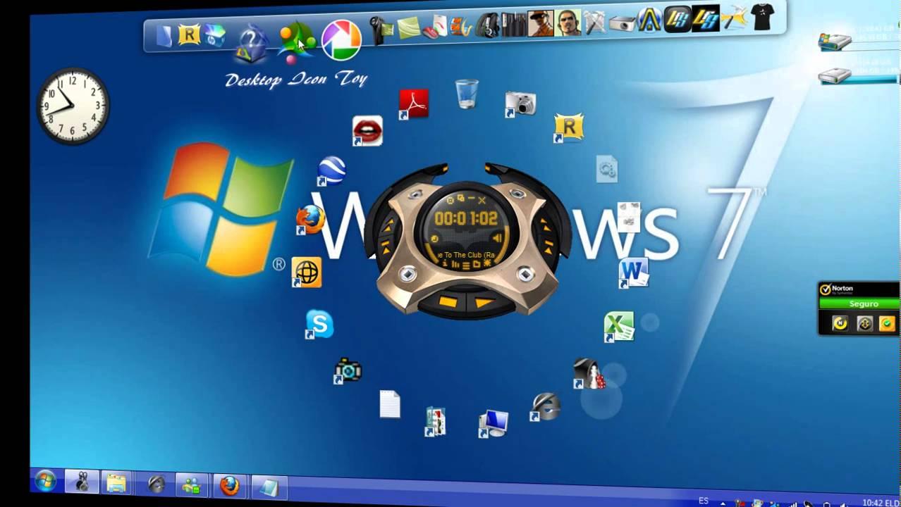 Desktop Icon Toy là ứng dụng cực kỳ thú vị