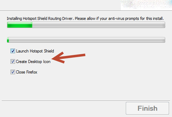 Nhấn chọn icon trên Desktop