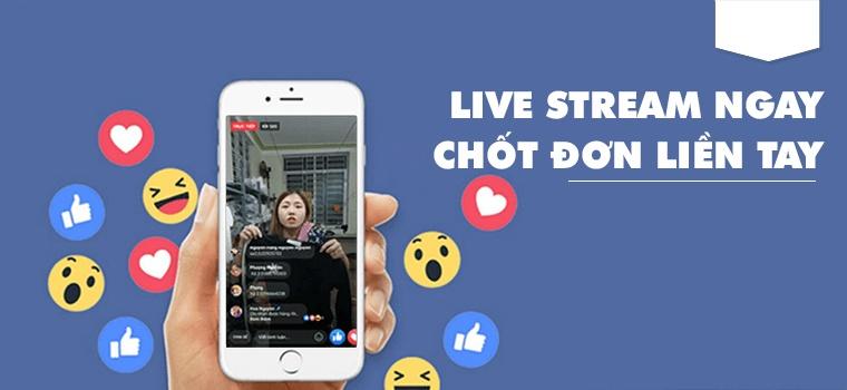 Livestream trên Facebook