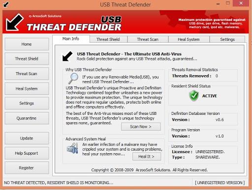 Phần mềm USB Threat Defender