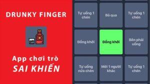 ứng dụng sai khiến Drunky Finger