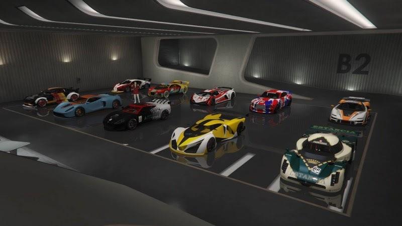 Các mẫu xe trong GTA5