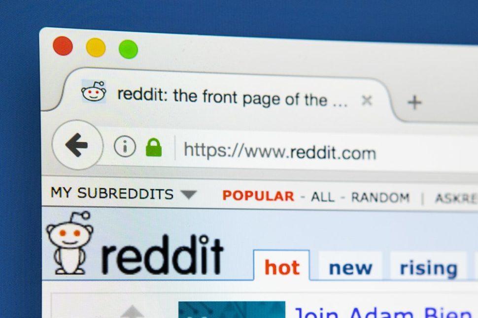 Trang mạng xã hội reddit