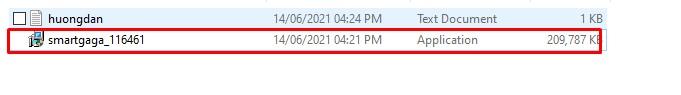 Chạy file có chưa SmartGaGa