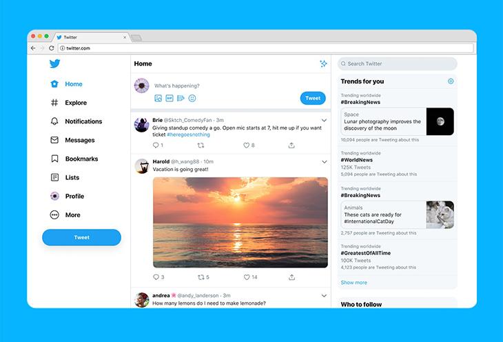 Mạng xã hội Twitter giới hạn số ký tự chia sẻ