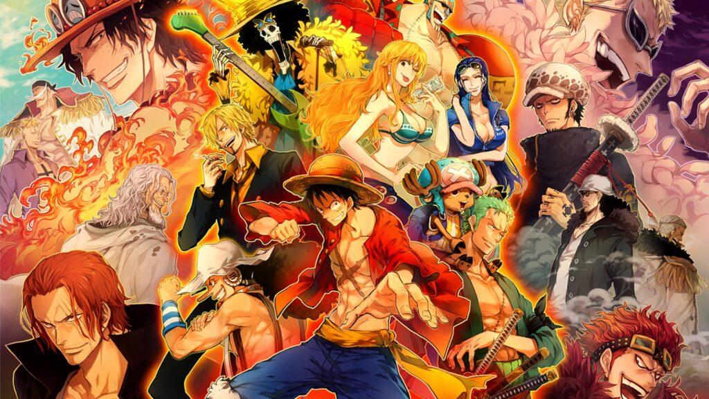 Hải Tặc Đại Chiến mô phỏng lại bộ truyện manga đình đám One Piece