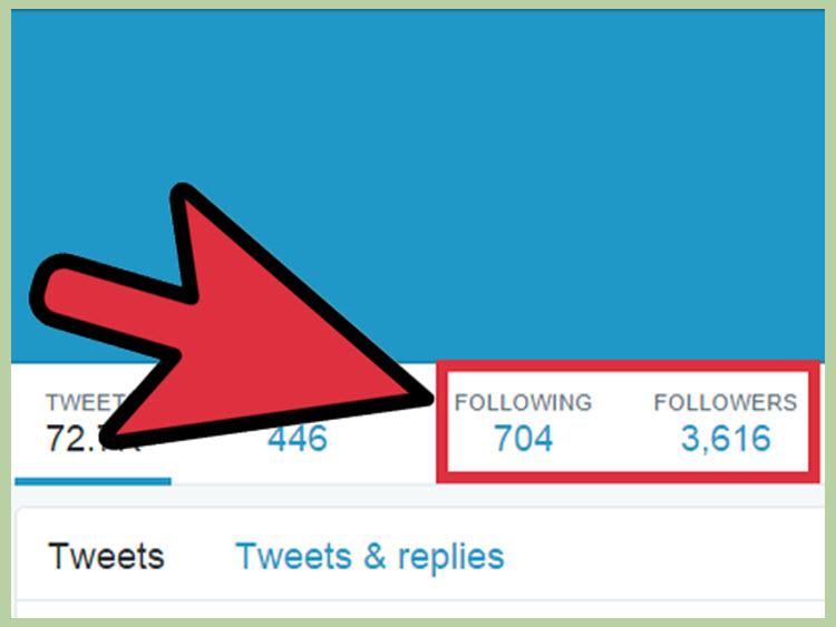 Có thể biết được những ai đang theo dõi mình trên mạng xã hội Twitter