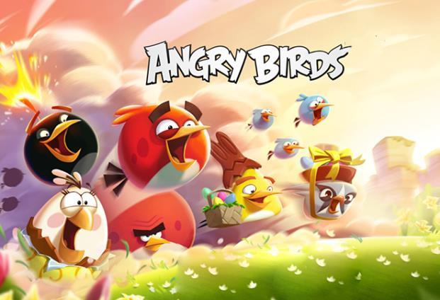 Angry birds là một series game đố được ra mắt vào năm 2009