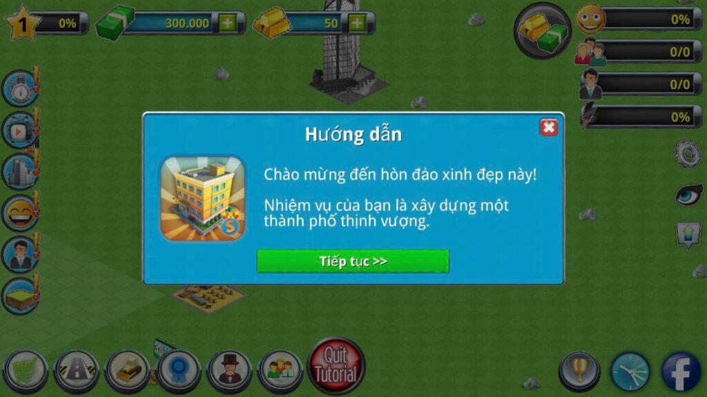 Hướng dẫn chơi City Island 2