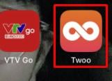 Icon Twoo trên màn hình