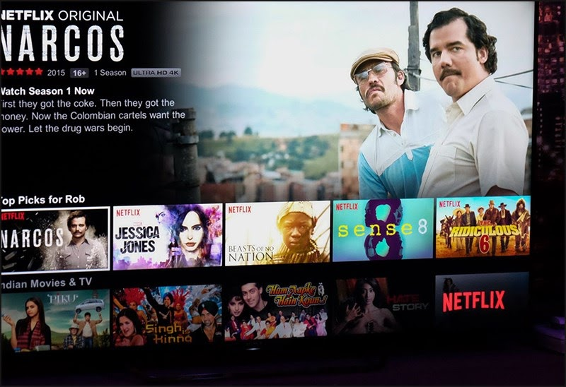 Kho chương trình phong phú, đa dạng của Netflix