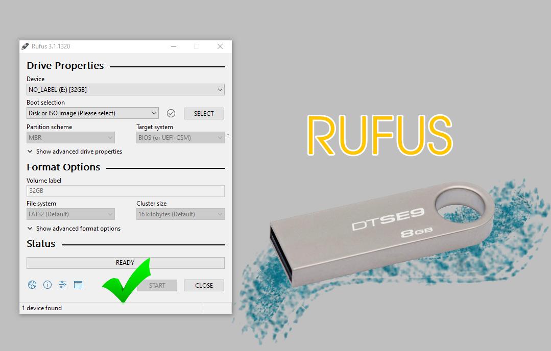 phần mềm rufus