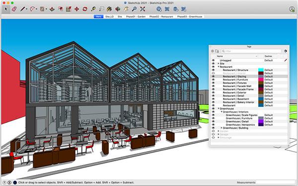 Phần mềm sketchup Pro bản 2021