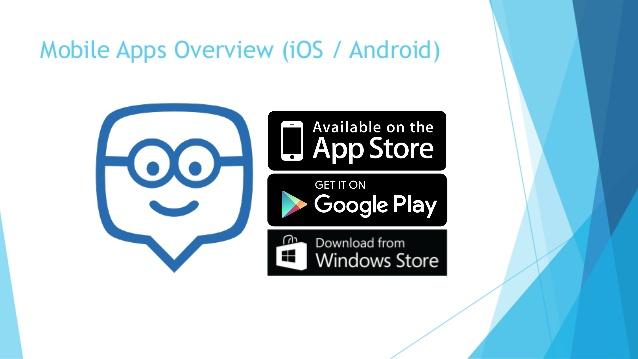 Edmodo hỗ trợ hai nền tảng di động là iOS và Android
