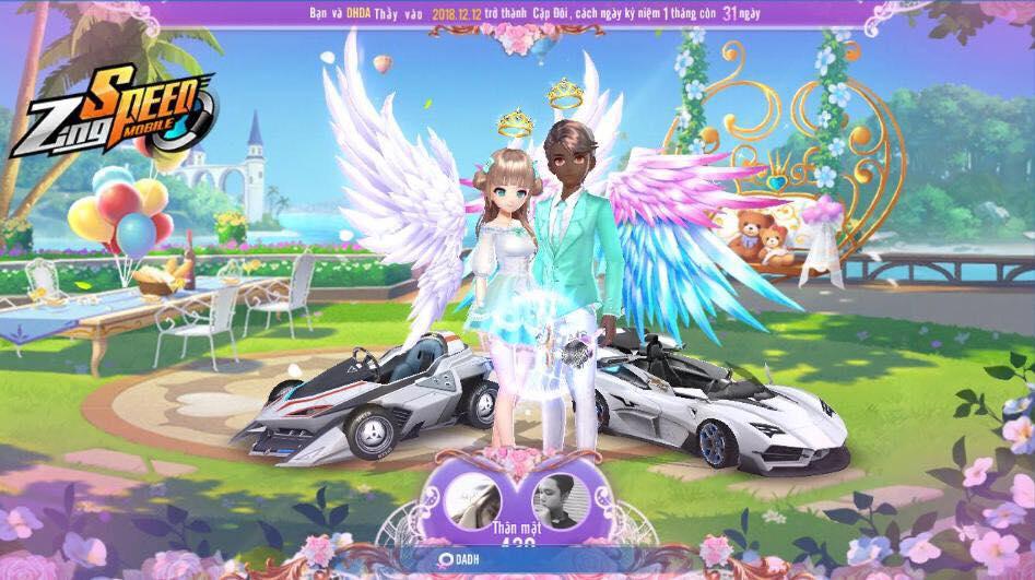Tính năng kết hôn trong game