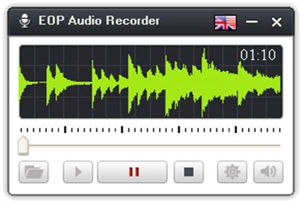 Trình ghi giọng nói EOP Audio Recorder