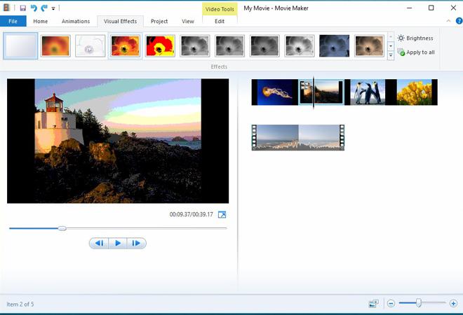 Cách tải & cài đặt trình làm phim windows