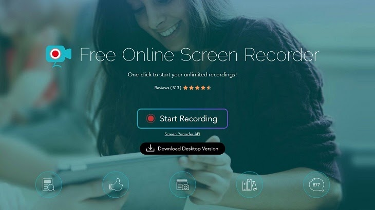 Ứng dụng Free online Screen Recorder