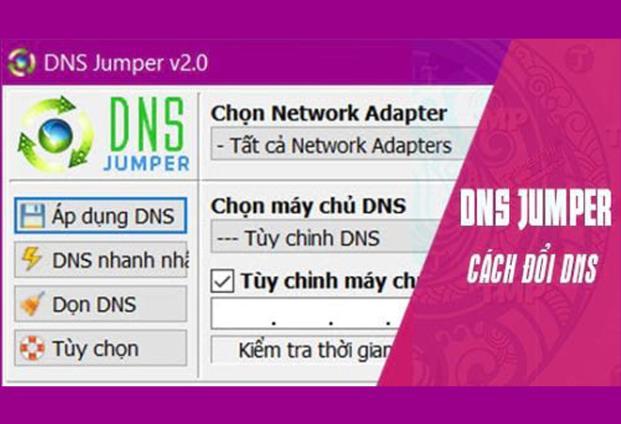 Tác dụng của việc đổi DNS