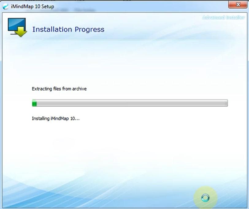 Phần mềm sẽ tự động cài đặt.