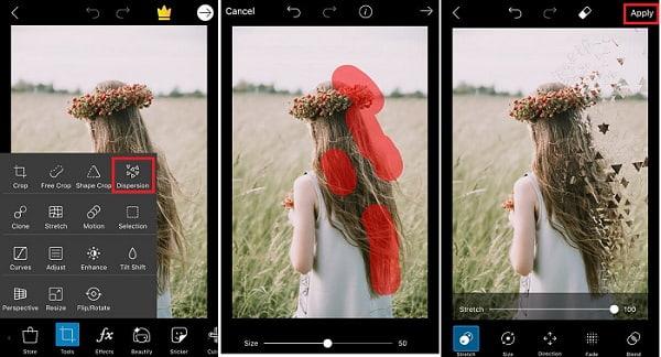 Bộ công cụ chỉnh ảnh đa dạng của PicsArt