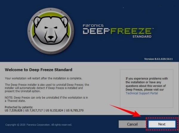 Deep Freeze 7 Full Crack