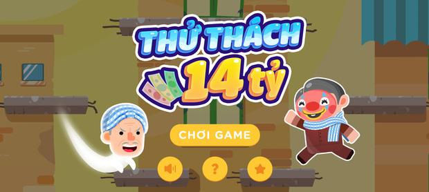 Giao diện game thử thách 14 tỷ