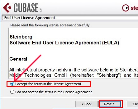 Chọn I accept the terms in the License Agreement -> nhấn Next