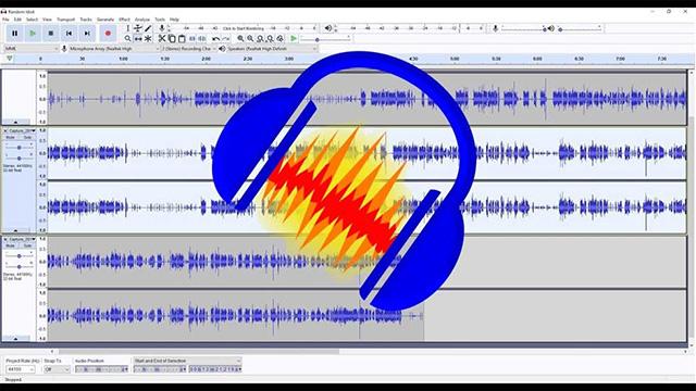Giới thiệu phần mềm audacity