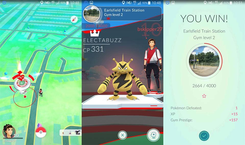 Pokemon Gym, PokeStop,... là những tính năng nổi bật cho người dùng