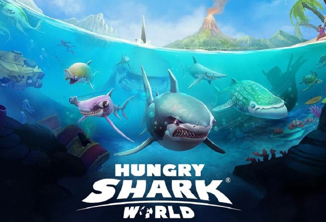 Giới thiệu chung về hungry shark world