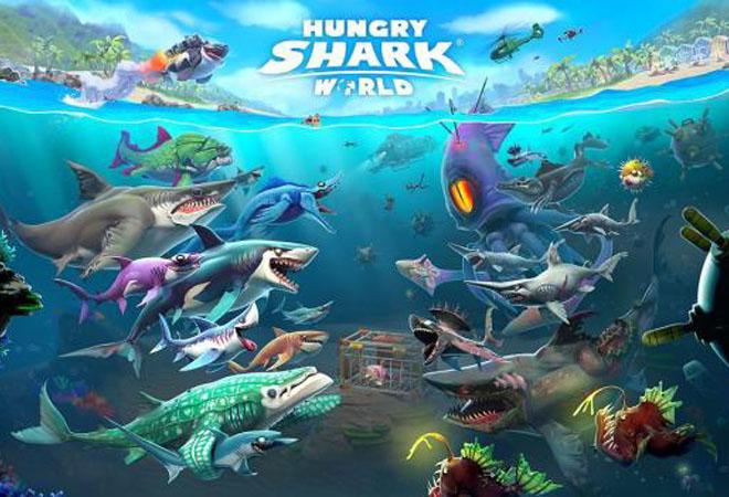 Các tính năng của hungry shark