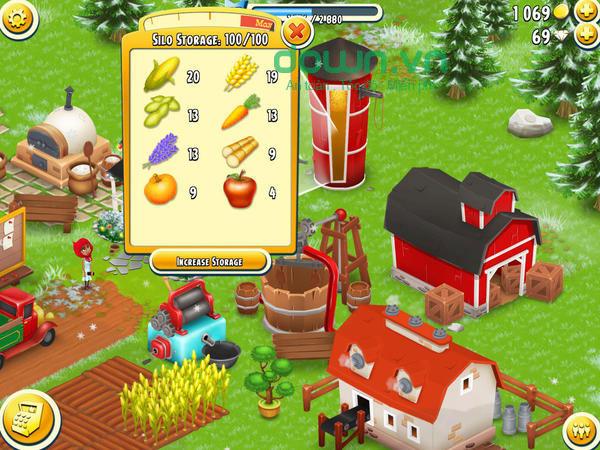 Người chơi được quản lý nông trại như một nông dân thực thụ