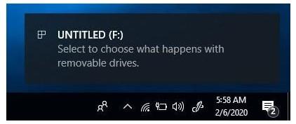 cần kết nối ổ đĩa flash USB với PC / laptop